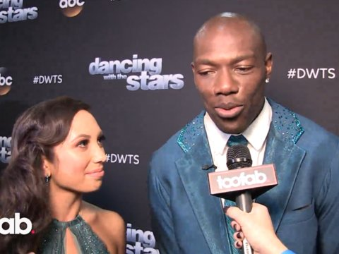 Terrell Owens and Cheryl Burke on His Late Grandmother