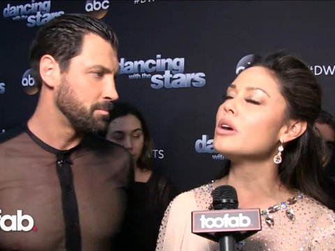 Vanessa Lache and Maksim Chmerkovskiy on Her Emotional Story and Stronger Partnership