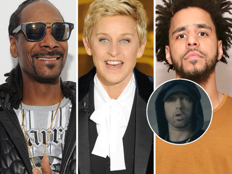 Eminem Trashes Trump in Epic Freestyle and Hollywood Goes Wild