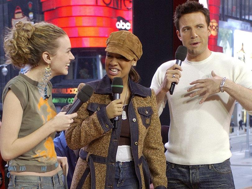 Ben Affleck Apologizes for Grabbing Actress Hilarie Burton's Breast on 'TRL'