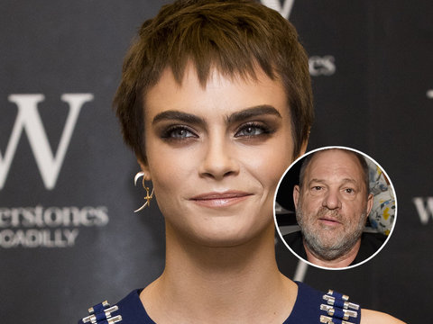 Cara Delevingne Says Harvey Weinstein Pressured Her to Kiss a Woman