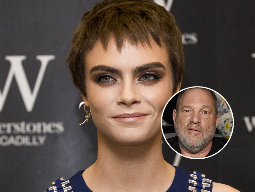 Cara Delevingne Says Harvey Weinstein Pressured Her to Kiss Another Woman in Hotel Room