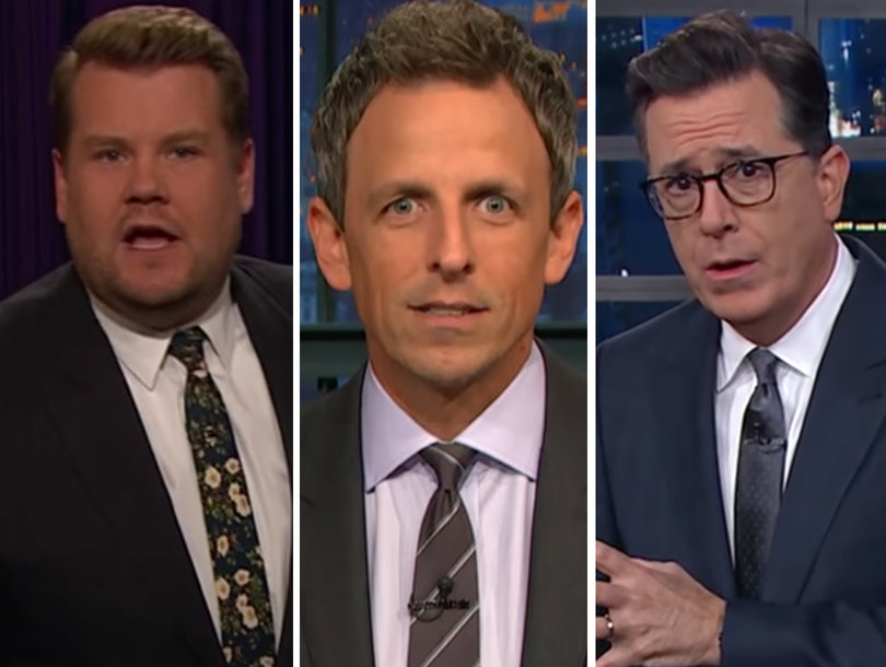 Late-Night Comedians Are Confident Trump's IQ Is Not Higher Than Rex Tillerson's