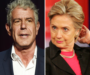 Anthony Bourdain Slams Hillary Clinton's 'Shameful' Harvey Weinstein Comment