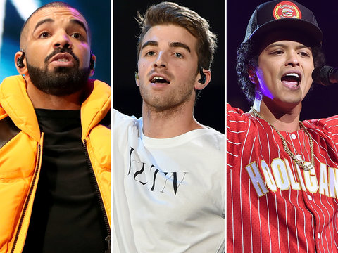 AMA Nominations 2017: Drake, Bruno Mars, Chainsmokers Take the Lead