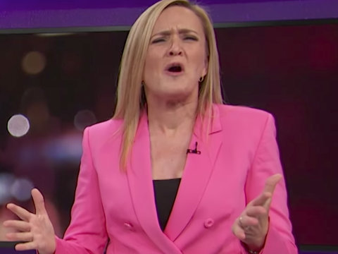 Samantha Bee Unleashes on 'White Cosby' Harvey Weinstein