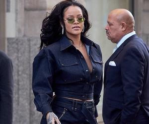Rihanna Works It In Head-to-Toe Denim in NYC