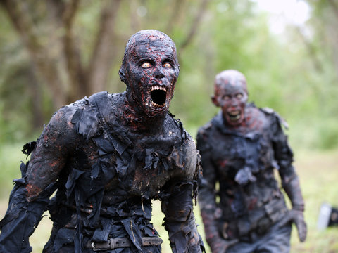 38 Creepiest Zombies From 'The Walking Dead' So Far