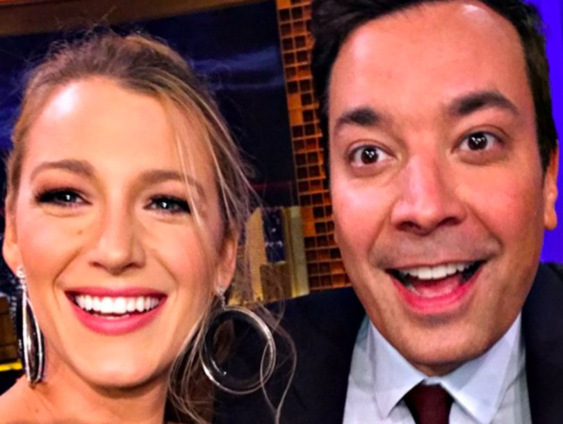 Blake Lively Bangs Up Her Knee in Dance Battle Against Jimmy Fallon