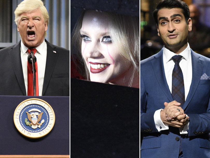 'SNL' Kumail Nanjiani Sketches Ranked Worst to First: Weinstein, Baldwin's Trump and Kellyanne Conway's 'It'
