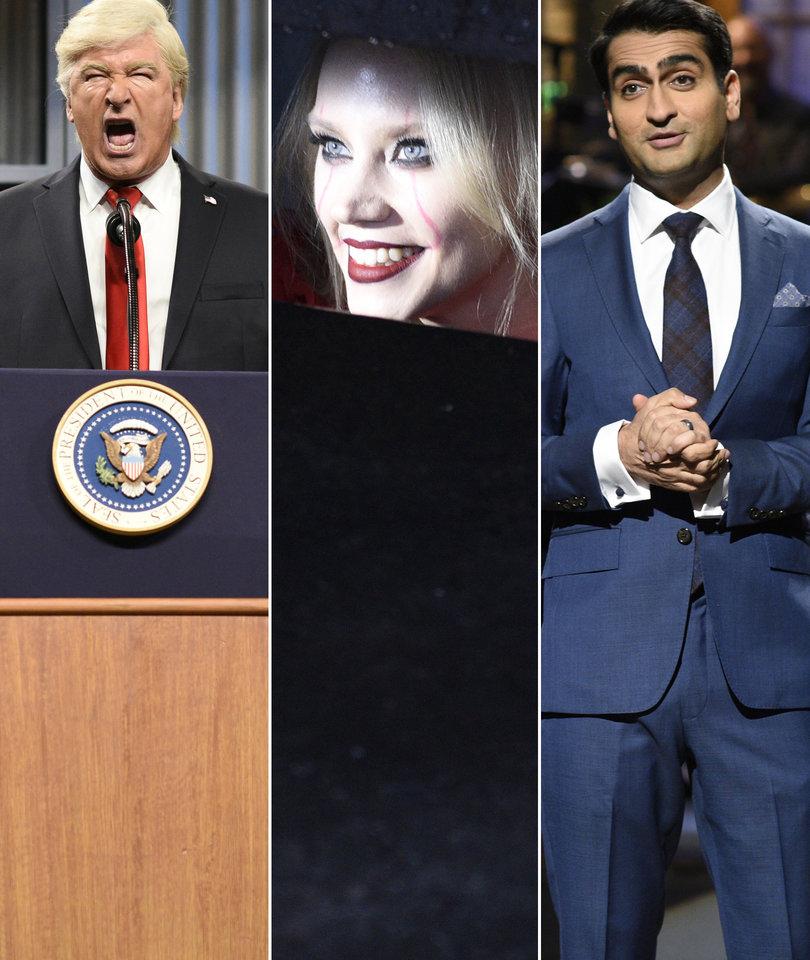 'SNL' Ranked: Weinstein, Baldwin's Trump and Kellyanne Conway's 'It'