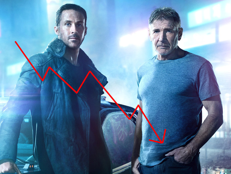 Why 'Blade Runner 2049' Tanked in the US Despite Star Power of Ryan Gosling and Harrison Ford