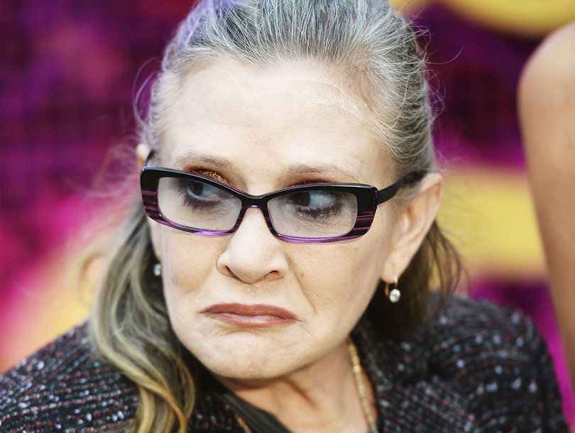 Carrie Fisher Once Gave a Cow Tongue to a Sexual Predator