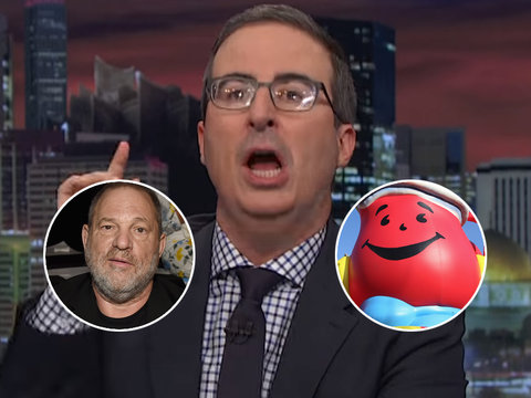 John Oliver Shreds Hollywood's Hypocrisy Over Harvey Weinstein, AKA 'Sex-Criminal Version…