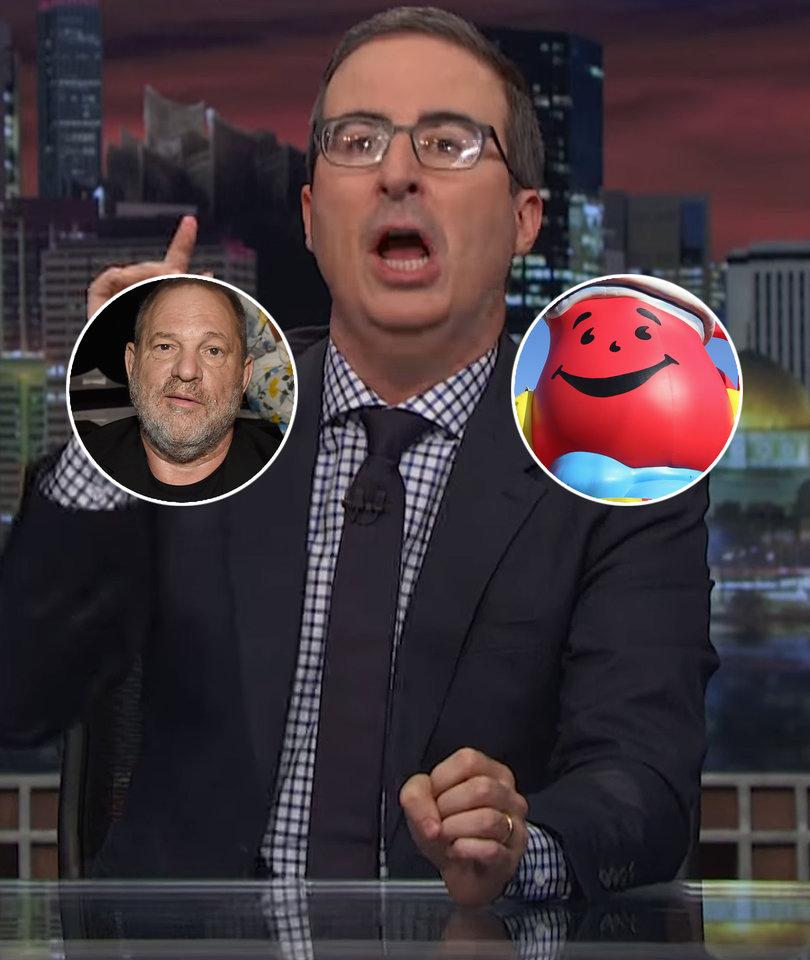 John Oliver Shreds Hollywood's Hypocrisy Over Harvey Weinstein, AKA…