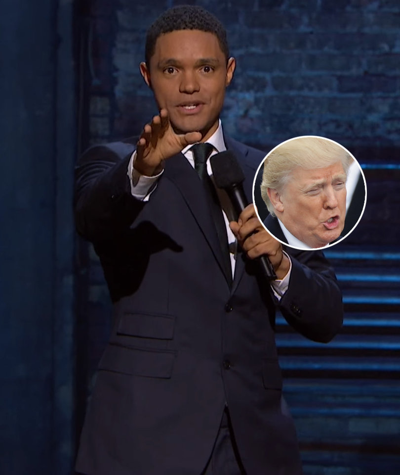 Trevor Noah Doesn't Know Why 'Republicans Insist on Letting Donald Trump Speak'