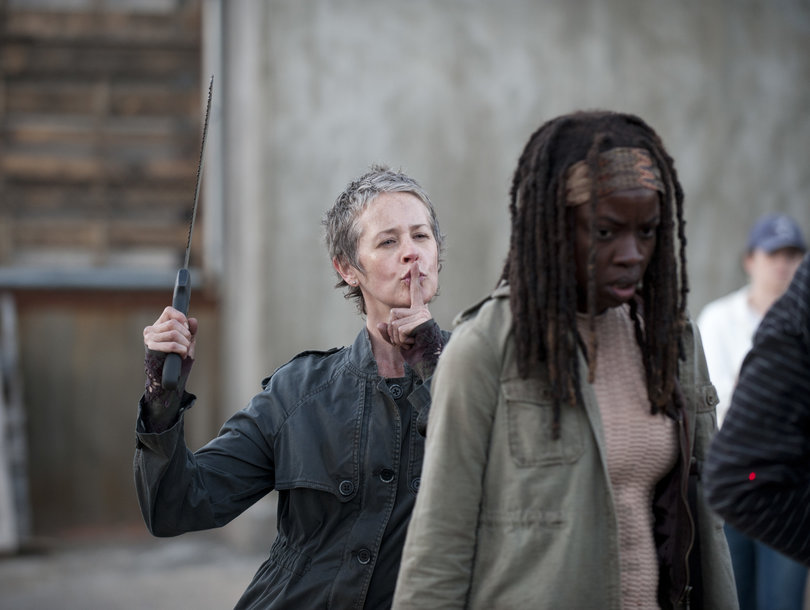 These 'Walking Dead' Candids Prove It's Not All Blood and Brutal Deaths on Set