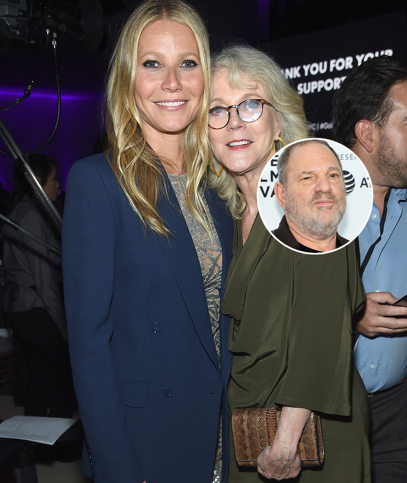 Paltrow's Mom Blasts NY Times for Comments About Gwyneth In Weinstein Op-Ed