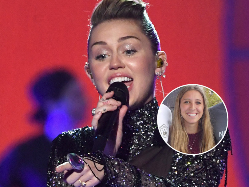 Miley Cyrus Sends a Surprise 'Welcome Home' Message to Las Vegas Shooting Survivor