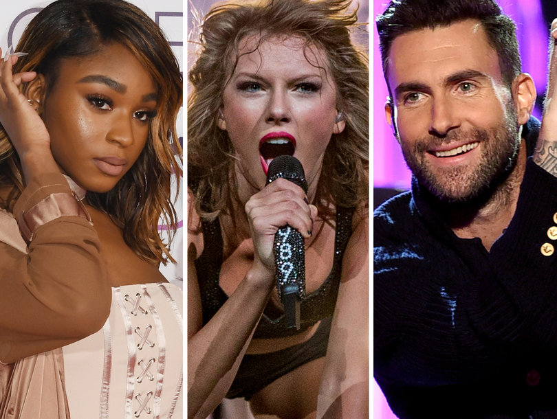 12 Songs You Gotta Hear on #NewMusicFriday: Fifth Harmony, Taylor Swift, Maroon 5