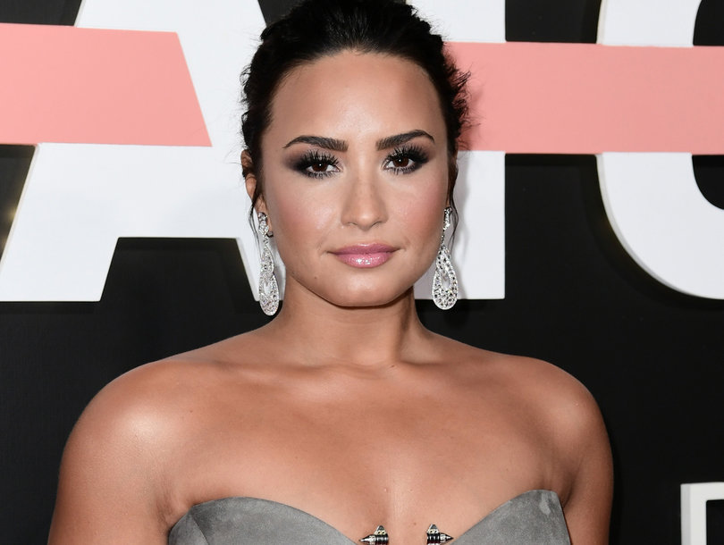 Demi Lovato Proves She's 'Confident' By Going Topless on Instagram