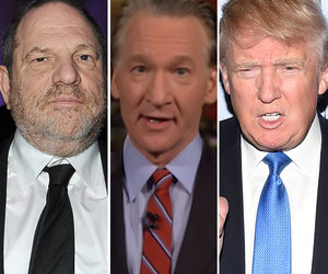 Bill Maher Says Donald Trump Is Still 'The Worst Fat, Gross Creep' Amid Harvey Weinstein…