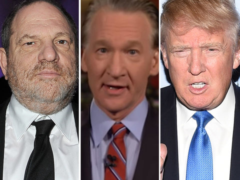 Maher Says Trump Is Still 'The Worst Fat, Gross Creep' Amid Weinstein Scandal