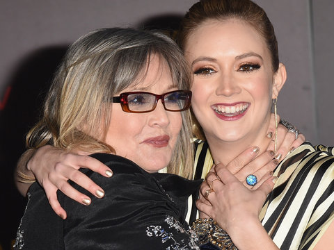 Billie Lourd Gets Matching Tribute Tattoo In Honor of Mom Carrie Fisher