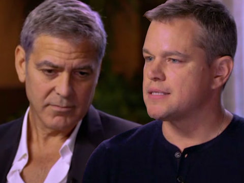 Clooney Never Believed an Actress Would Willingly Have Affair With Harvey Weinstein