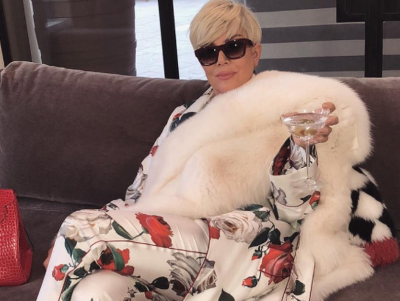 31 Funniest Reactions to Kris Jenner's Blonde and Bougie Meme-Worthy Photo