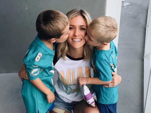 Kristin Cavallari and Sons Cheer on Dad Jay Cutler