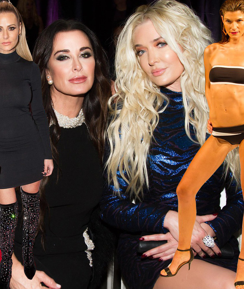 'RHOBH' Stars Support Dorit at Swimsuit Line Fashion Show