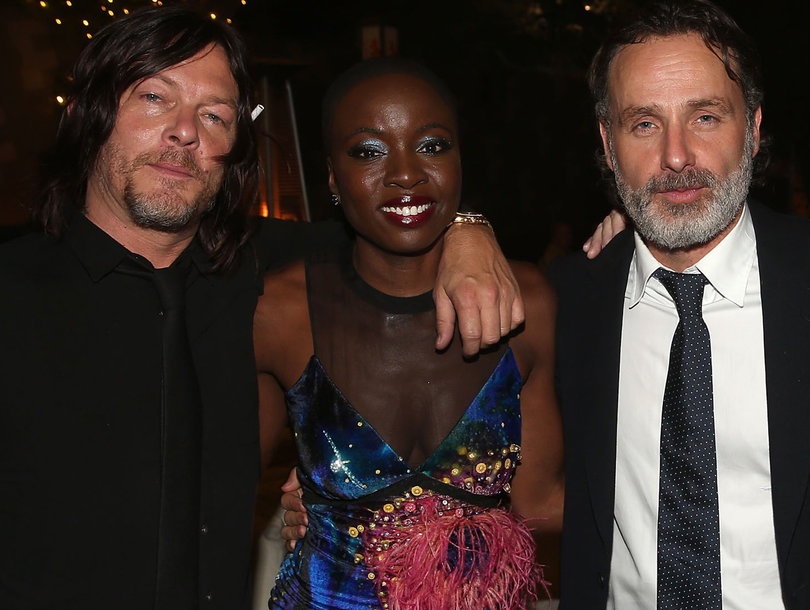 'The Walking Dead' Cast Celebrates 100th Episode and Season 8 Premiere