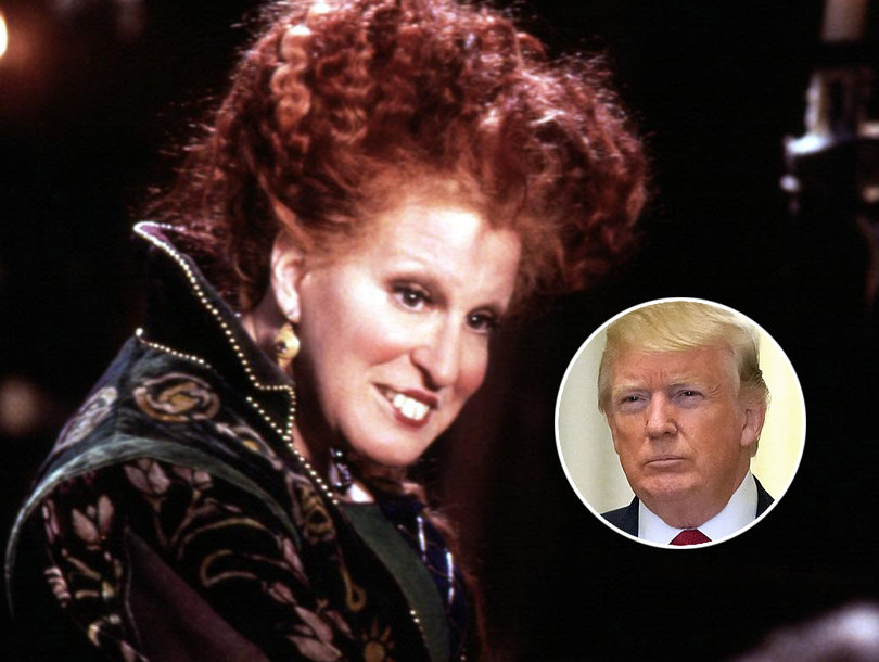 Bette Midler Burns Donald Trump With Perfectly Timed 'Hocus Pocus' Reference