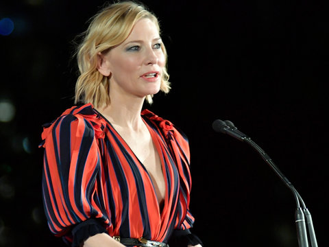 Cate Blanchett to Men: Dressing Sexy 'Doesn't Mean We Want to F-ck You'