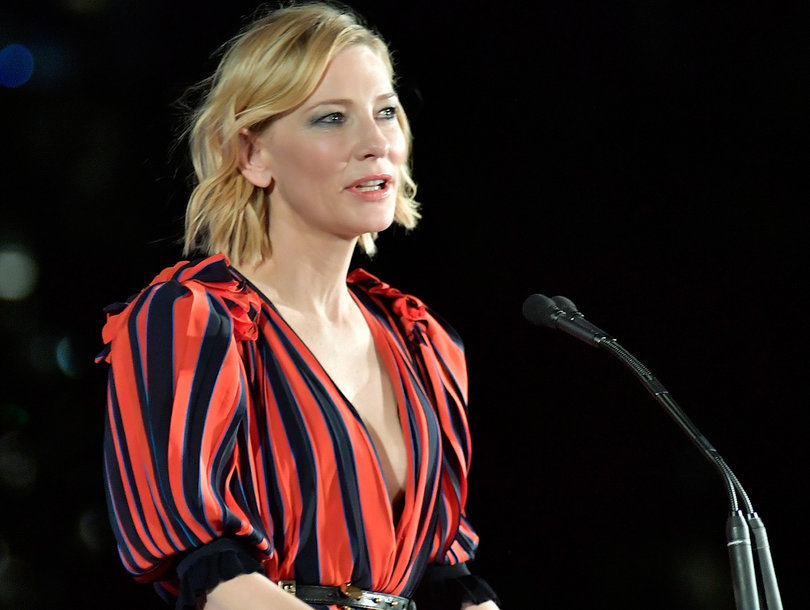 Cate Blanchett to Men: 'We All Like to Look Sexy, But It Doesn't Mean We Want to F-ck You'