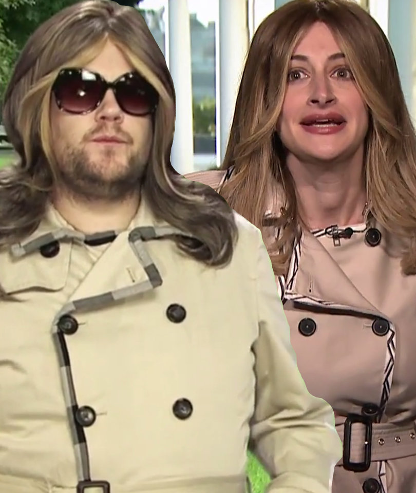 Corden, Fallon Investigate Melania Trump Body-Double Conspiracy Theory