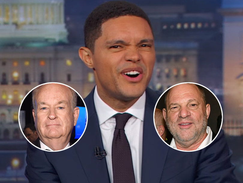 Trevor Noah Unloads on Fox News for Enabling Bill O'Reilly's Sexual Harassment While Slamming Weinstein