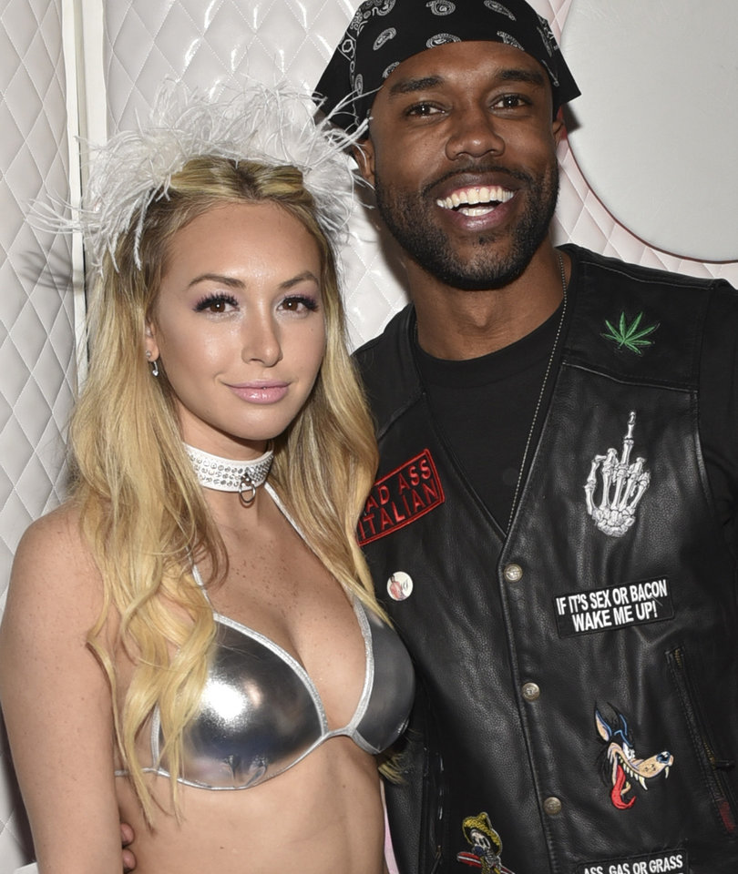 Corinne Olympios and DeMario Jackson Weigh In on Weinstein Scandal