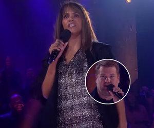 Halle Berry Annihilates James Corden In 'Drop the Mic' Rap Battle