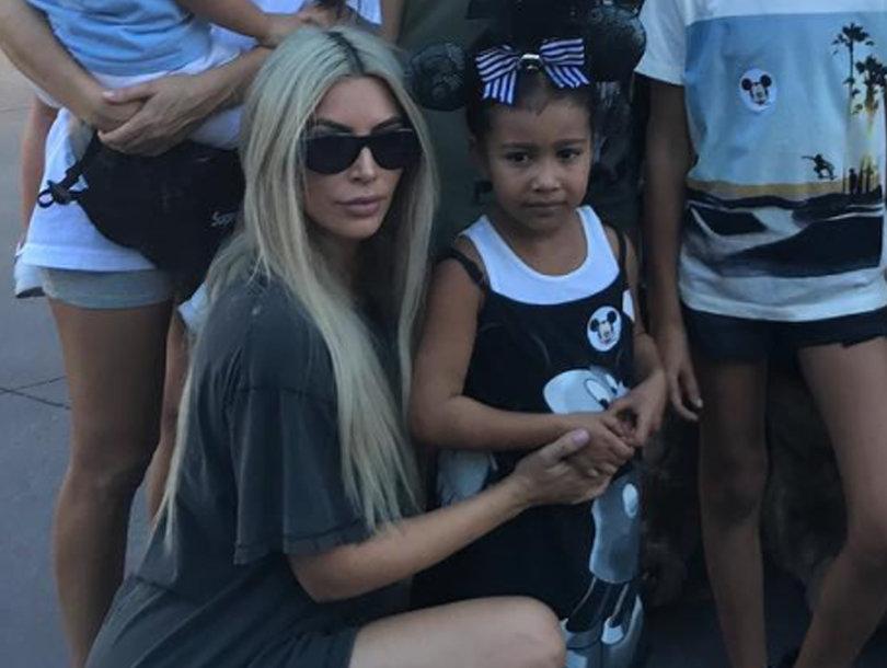 The Kardashians Take Disneyland After Kim's 37th Birthday