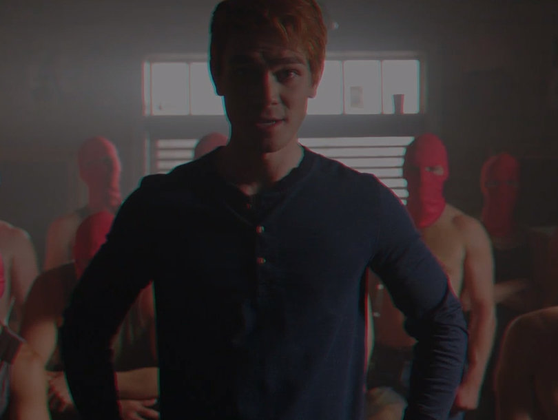 How 'Riverdale' Cast Kept It 'Intense' While Filming Archie's Threatening Angel of Death Video (Exclusive)