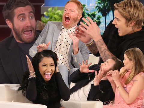 56 Times Ellen Scared the Hell Out of Famous People