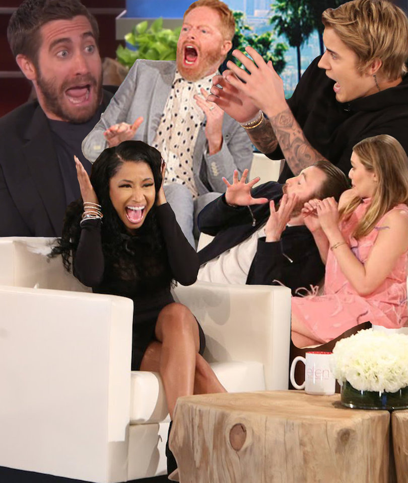 54 Times Ellen Scared the Hell Out of Famous People