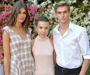 Millie Bobby Brown Hangs with Cindy Crawford's Kids at CFDA/Vogue Fashion Show