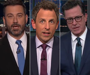 Late-Night Stars Tear Into Fox News, Lou Dobbs for Coddling Trump