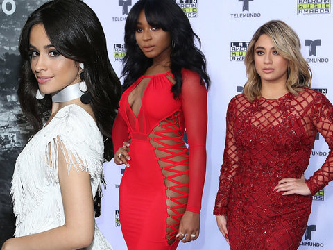 Camila and Fifth Harmony Kill It on Latin American Music Awards Red Carpet