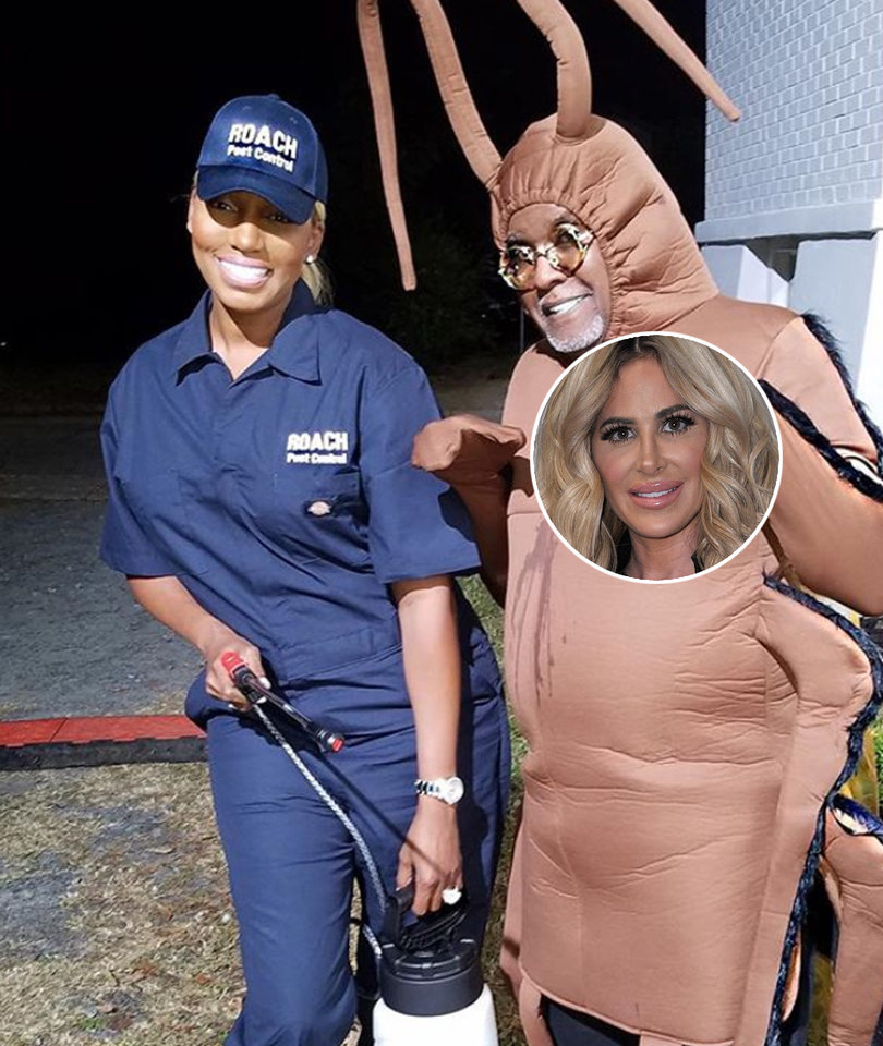 NeNe Leakes Fuels Kim Zolciak Feud With Cockroach and Exterminator Halloween…