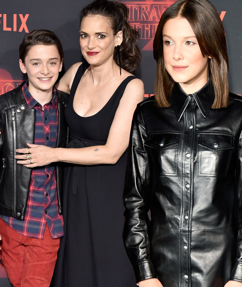 Eleven Rocks a New 'Do at the 'Stranger Things 2' Premiere