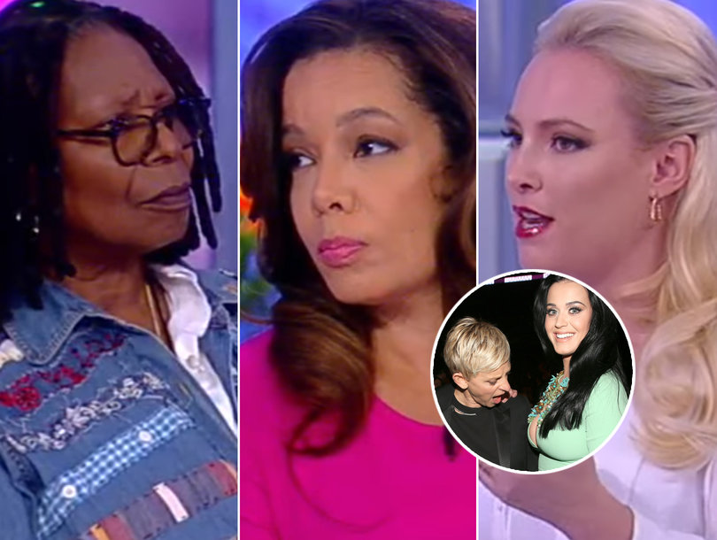'The View' Piles on Ellen DeGeneres for Katy Perry Big Breasts Joke: 'Bad Timing'